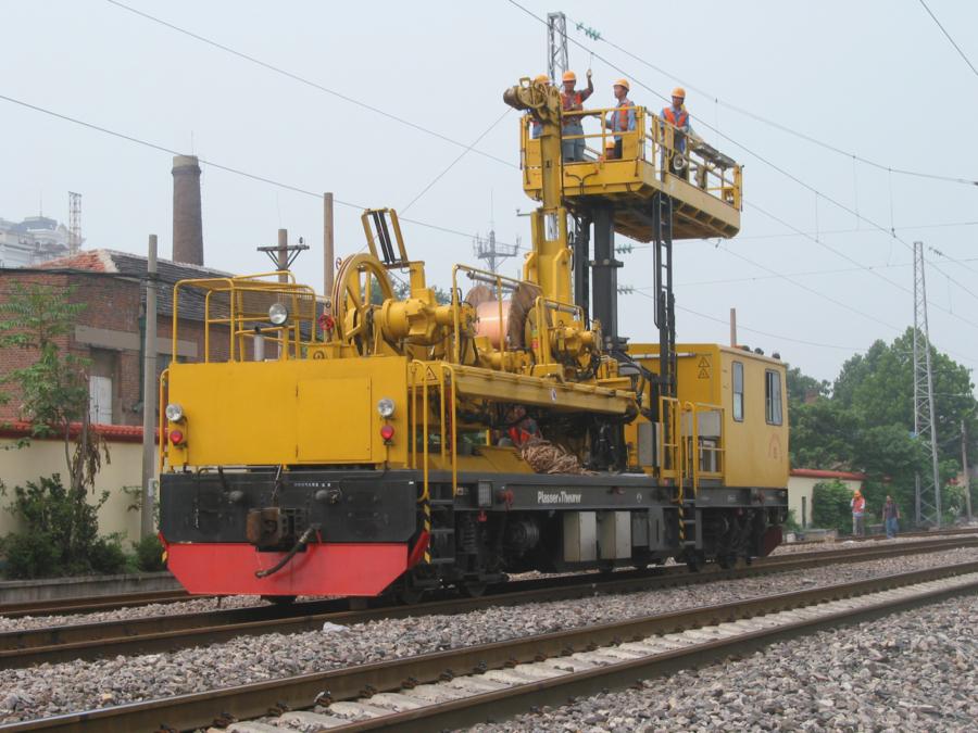 CEM 100 catenary renewal machinein China