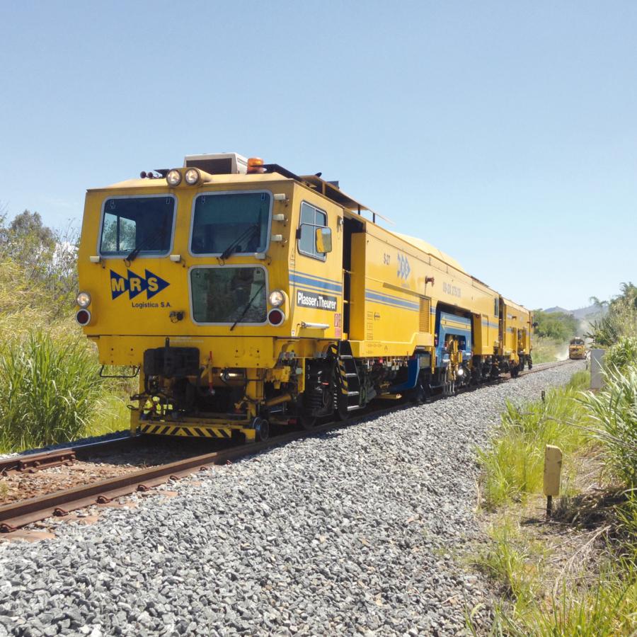 Brazil – multi-purpose machine for the treatment of tracks and turnouts on the heavy haul railway of MRS Malha Regional Sudeste