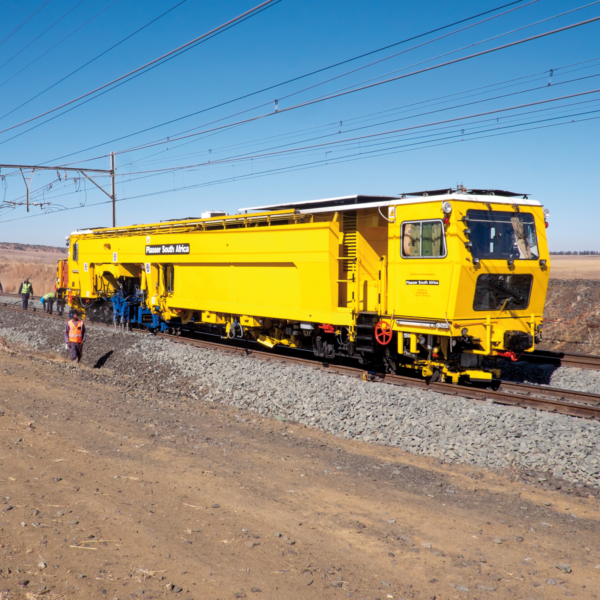 South Africa – compact turnout tamping technology using the Unimat Compact 08/3S