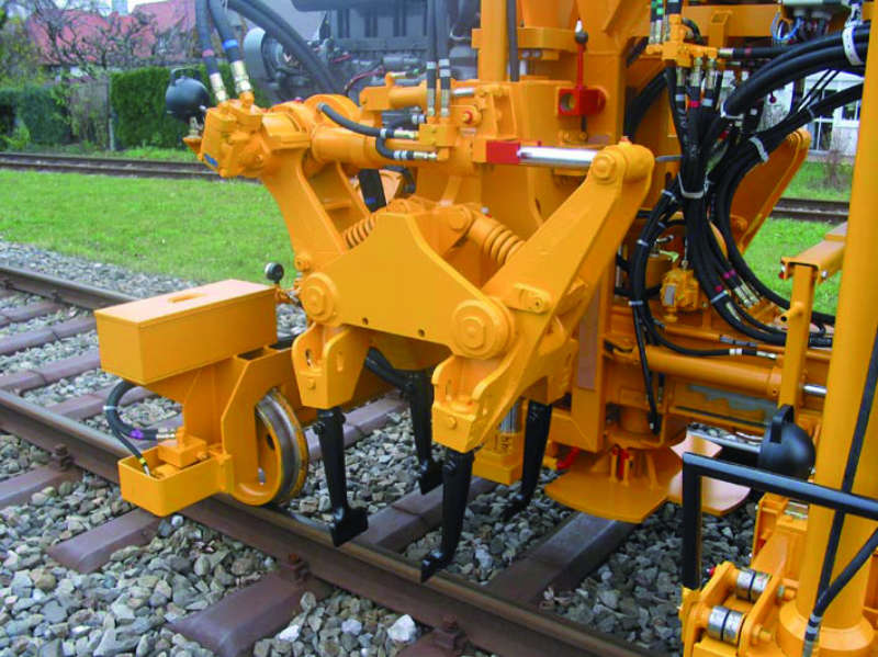 The 1-sleeper tamping unit – well-proven simplicity