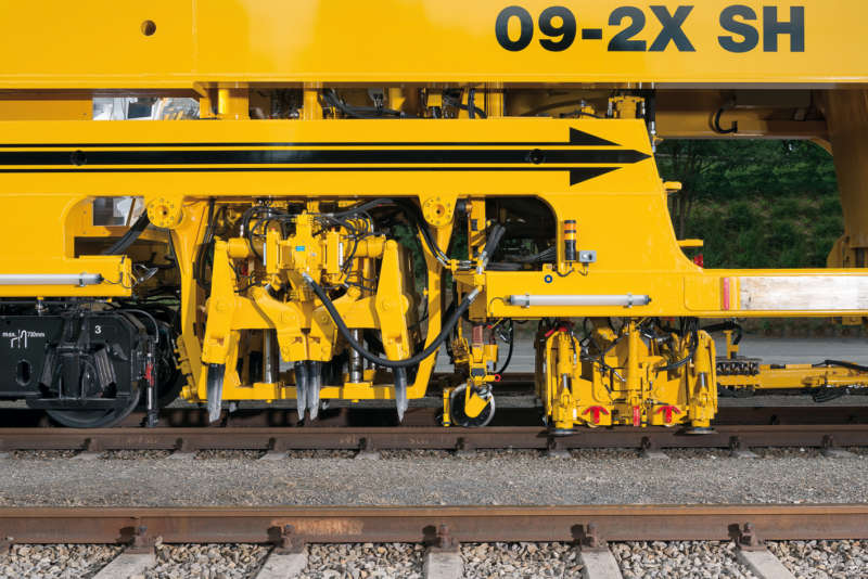 The continuous classic for 2-sleeper tamping